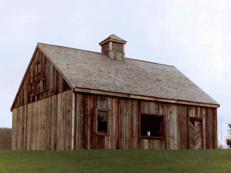 Re Construction Of Salavaged Barn